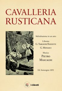 Cavalleria rusticana libretto eBook