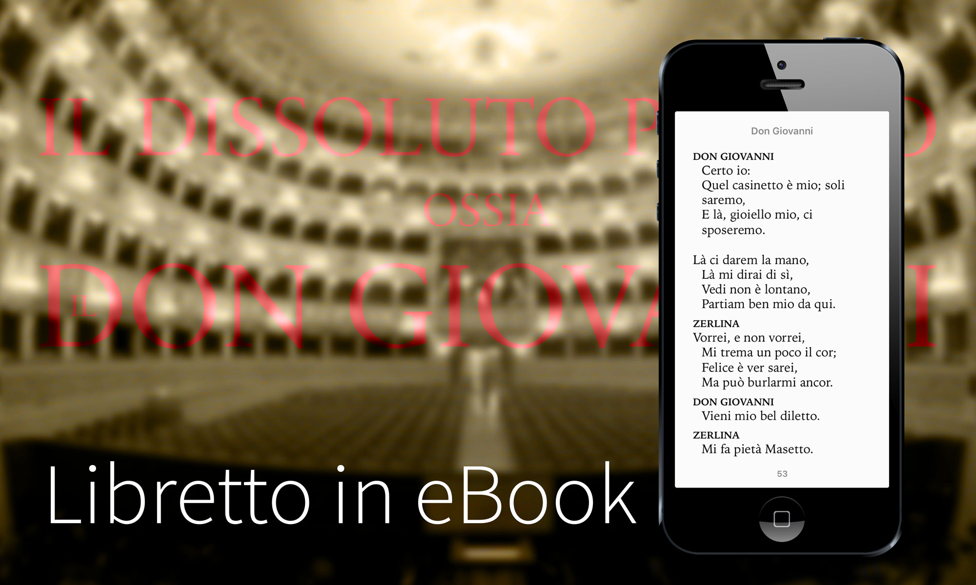 Don Giovanni Libretto eBook