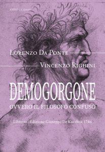 Libretto ebook opera Demogorgone Da Ponte Righini