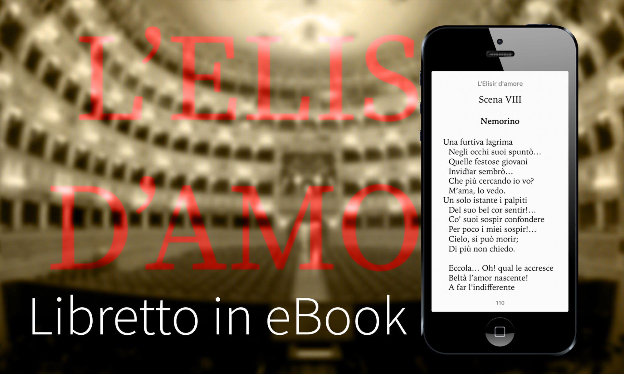 Libretto Elisir d'amore - Romani-Donizetti