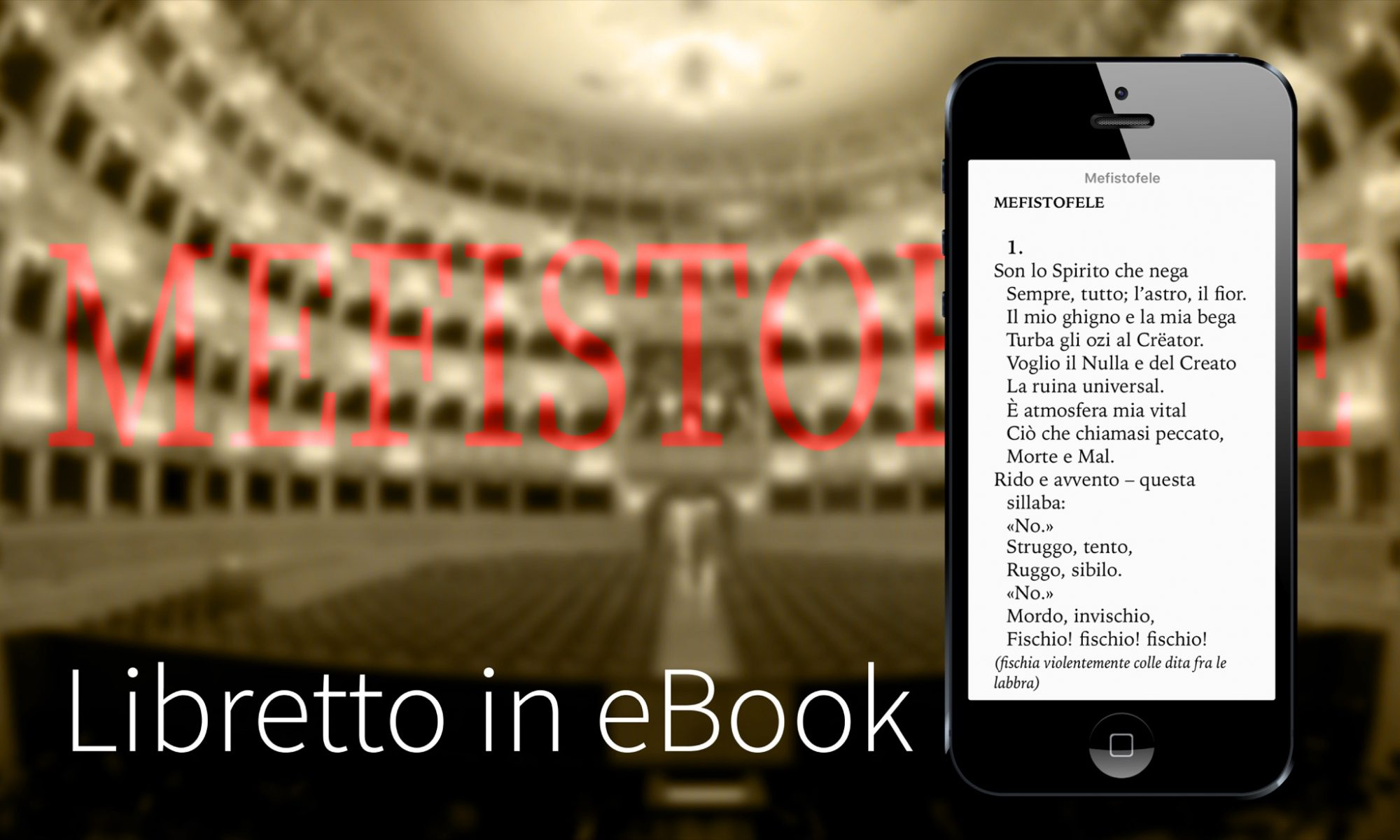 Libretto Mefistofele - Arrigo Boito
